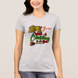 (Your name-Optional) Trini Christmas4 T-Shirt