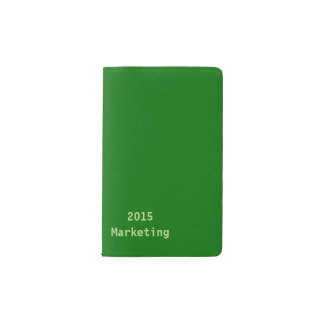 Your Name or Text Pocket Moleskine Notebook Cover With Notebook