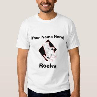 [Your Name] Rocks Custom T-Shirt
