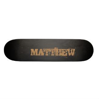 Your Name Custom Skate Board