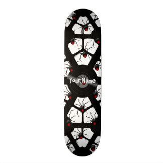 Your Name Spider Skateboard