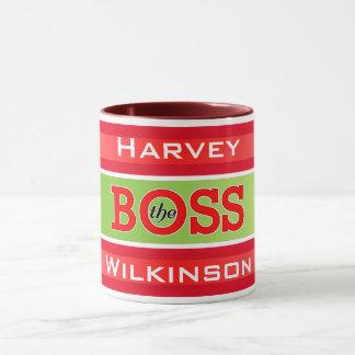 (Your Name) The Boss / Da Boss Mug