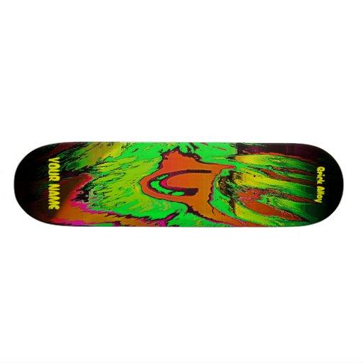 YOUR NAME Tiger Eye Skateboard Decks