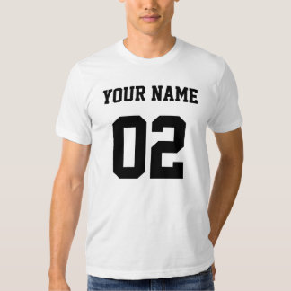 Your Name Your Number Shirt