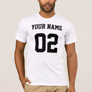 Your Name Your Number T-Shirt