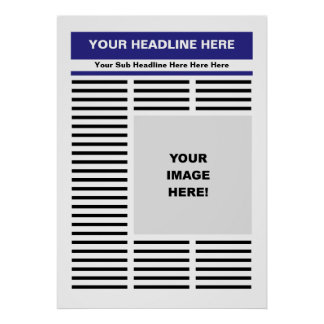 Your Newspaper Poster