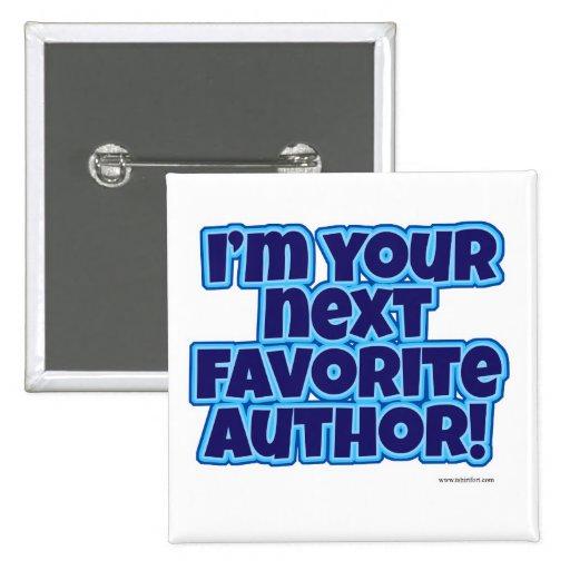 Your Next Favorite Author Button