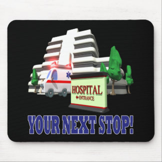Your Next Stop Mouse Pad