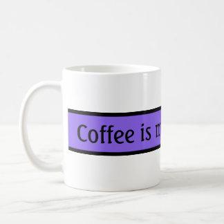 Your nice saying: Coffee is my Inspiration Coffee Mug