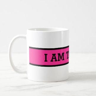 Your nice saying: I AM THE BOSS Coffee Mug