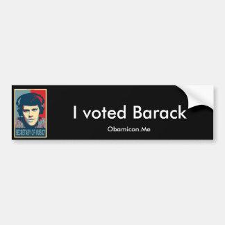 Your Obamicon.Me Car Bumper Sticker