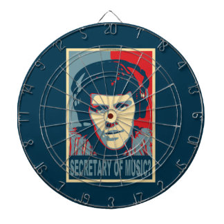 Your Obamicon.Me Dartboard With Darts