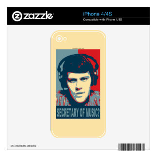 Your Obamicon.Me Decals For iPhone 4S