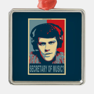 Your Obamicon.Me Metal Ornament