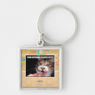 Your Offering Pleases Kitty Keychain