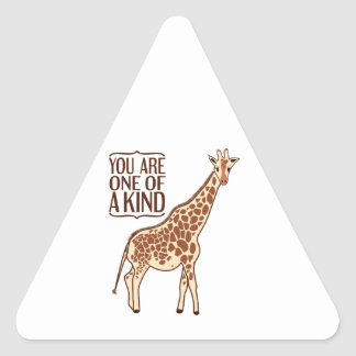 Your One Of A Kind Triangle Sticker