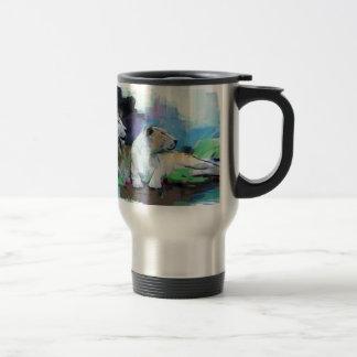 your one wild and precious life travel mug