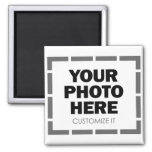 Your Own Customized Photo / Image Fridge Magnet