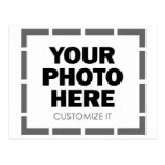Your Own Customized Photo / Image Post Card