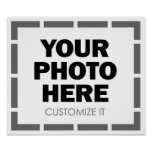Your Own Customized Photo / Image Posters