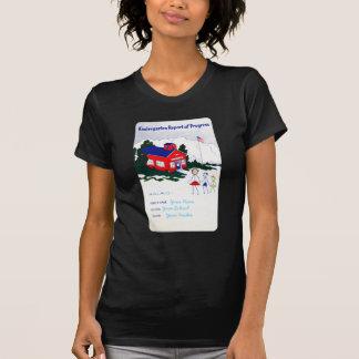 Your Own Kindergarten Report Card T-Shirt
