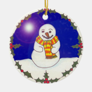 Your own Message Christmas Ornament