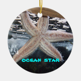 YOUR OWN OCEAN STAR CERAMIC ORNAMENT