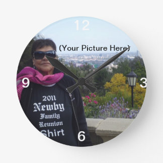 Your Own Personalized Wall Clock
