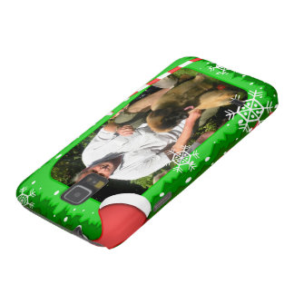 Your own photo in a Christmas frame! - Galaxy S5 Cover