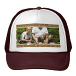 Your own photo in a Golden Flowers Frame! - Trucker Hat