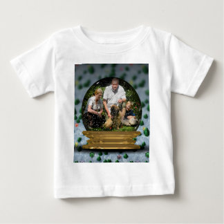 Your own photo in a Snowglobe Frame! - Baby T-Shirt
