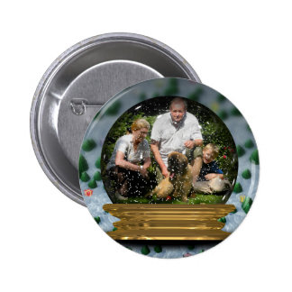 Your own photo in a Snowglobe Frame! - Button