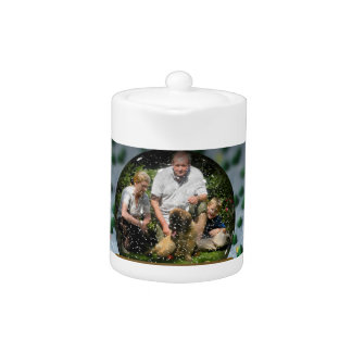 Your own photo in a Snowglobe Frame! - Teapot