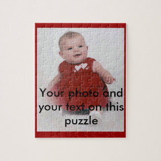 Your own photo puzzle box