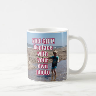 Your Own Photo Upload Best Personal Picture Gift ! Coffee Mug