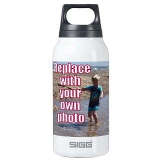 Your Own Photo Upload Best Personal Picture ! Insulated Water Bottle