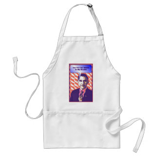 Your Own Talking Obama Pop Art Satire Product Adult Apron