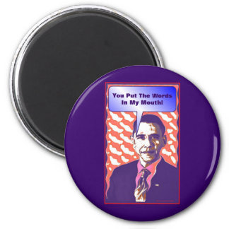 Your Own Talking Obama Pop Art Satire Product Magnet