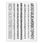 Your Own Texts, Sayings, Wisdoms, Signs Temporary Tattoos at Zazzle