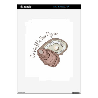 Your Oyster Decal For iPad 2
