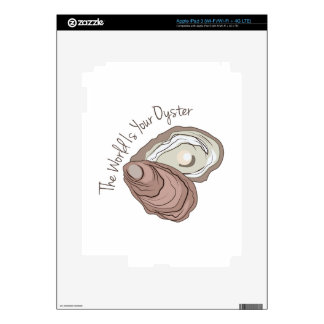 Your Oyster iPad 3 Skin
