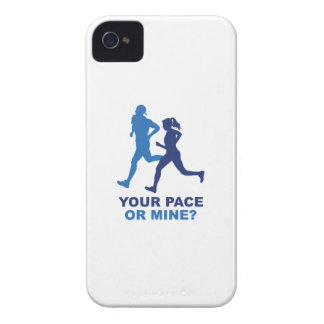 Your Pace Or Mine? iPhone 4 Cases