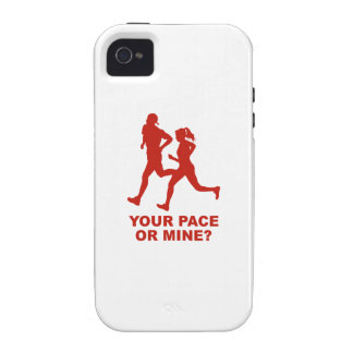 Your Pace Or Mine? iPhone 4 Covers