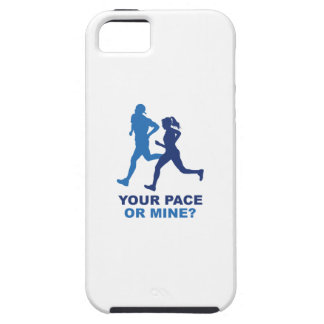 Your Pace Or Mine? iPhone SE/5/5s Case