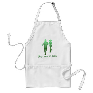 Your Pace or Mine? Running Products Adult Apron