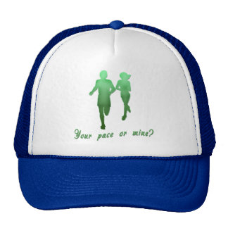 Your Pace or Mine? Running Products Hats