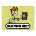 Your Pad or Mine Cards