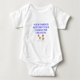 Your Parent's Botched Your Character Creation Baby Bodysuit