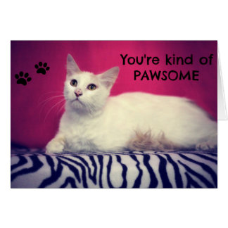 Your Pawsome Love Card