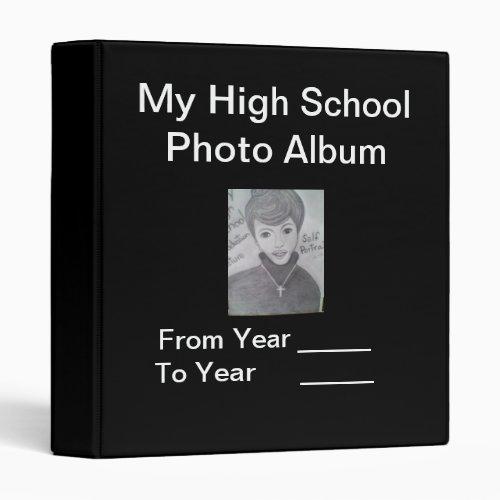 Your personal High School Photo Album Binder